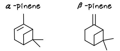 ピネン pinene