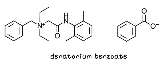 安息香酸デナトニウム